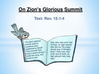 On Zion's Glorious Summit