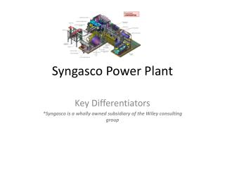 Syngasco  Power Plant