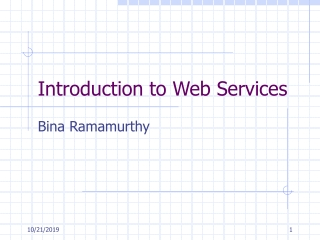 Web Services Setup and Deployment