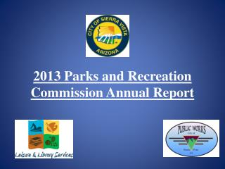 2013 Parks and Recreation Commission Annual Report