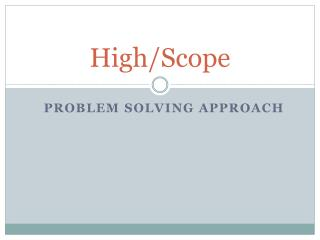 High/Scope