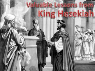 King Hezekiah