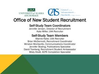 Office of New Student Recruitment
