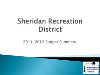 Sheridan Recreation District