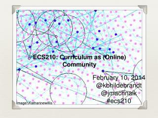 ECS210: Curriculum as (Online) Community