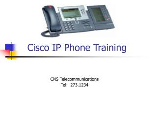 Cisco IP Phone Training