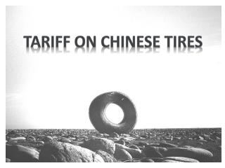 TARIFF ON CHINESE TIRES