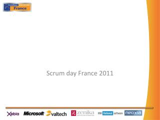 Scrum day  France 2011
