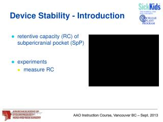 Device Stability - Introduction