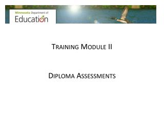 Training Module II