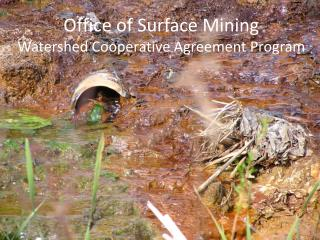 Office of Surface Mining Watershed Cooperative Agreement Program