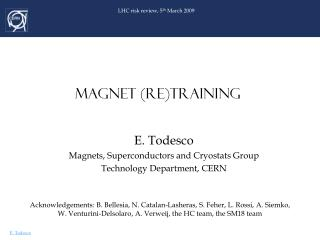 MAGNET (RE)Training
