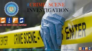 # CRIME SCENE INVESTIGATION