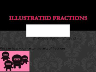 Illustrated FRACTIONS