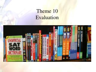 Theme 10 Evaluation