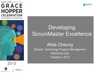 Developing ScrumMaster Excellence