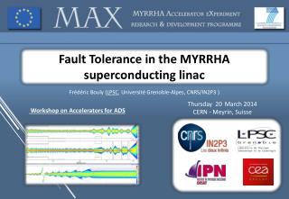 Fault Tolerance in the MYRRHA superconducting  linac