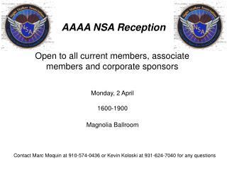AAAA NSA Reception