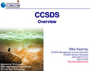 CCSDS  Overview