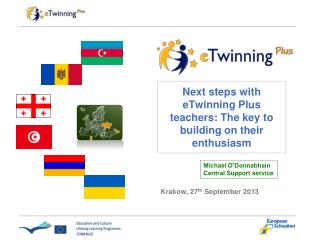 Next steps with eTwinning Plus teachers: The key to building on their enthusiasm