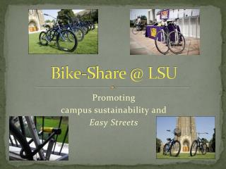 Bike-Share @ LSU