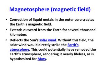 Magnetosphere (magnetic field)
