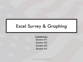 Excel Survey & Graphing
