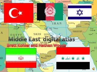 Middle East  digital atlas