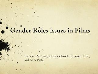 Gender Roles Issues in Films