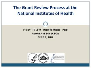 The Grant Review Process at the National Institutes of Health