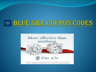 Blue Nile Coupon Codes