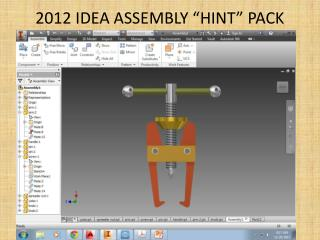 "2012 IDEA ASSEMBLY ""HINT"" PACK"