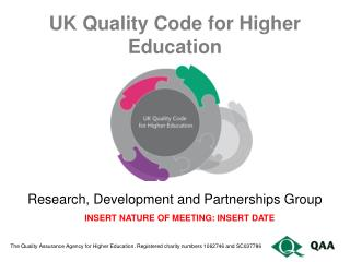 UK Quality Code for Higher Education
