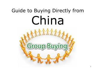 Guide to Buying Directly from China