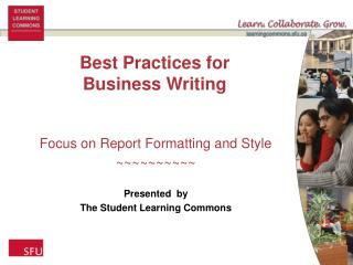 Best Practices for Business Writing