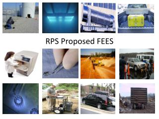 RPS Proposed FEES