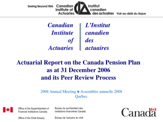 Canadian Institute of Actuaries