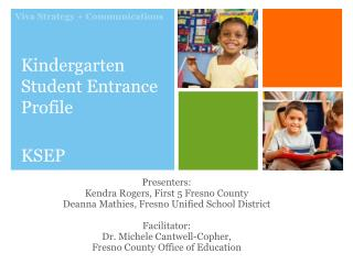 Kindergarten Student Entrance Profile KSEP