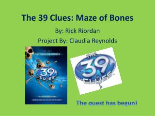The 39 Clues: Maze of Bones