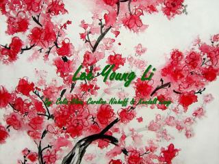 Lee Young Li