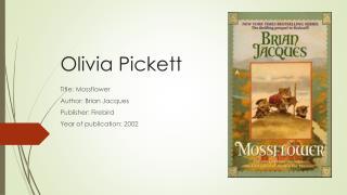 Olivia Pickett