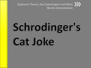 Schrodinger's Cat Joke