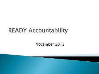 READY Accountability