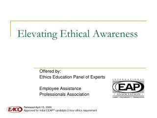 Elevating Ethical Awareness