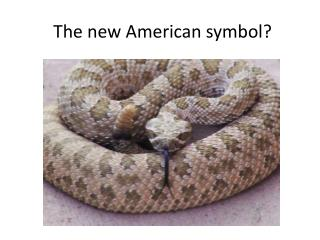 The new American symbol?