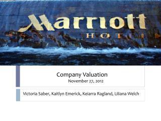 Victoria Saber, Kaitlyn Emerick , Keiarra Ragland, Liliana Welch