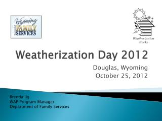 Weatherization Day 2012