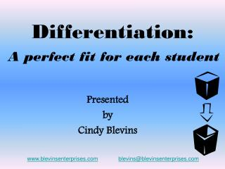 Differentiation: