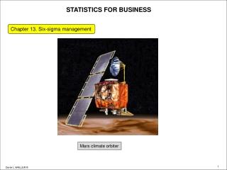 Lean Six Sigma Services Business Plan