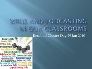 Wikis and Podcasting in our classrooms